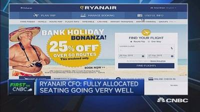News video: 'Good banter': Ryanair CFO on Twitter battle